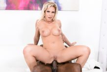 When Nadia North's hubby works past due she takes BBC within the ass