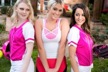 Lily Adams and Lily Rader have a sizzling threesome with Athena.