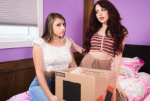 Faculty woman Gia Derza tries lesbian intercourse with Sabina