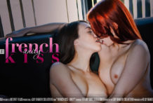 French Smooch Scene 1 Unity Leila Smith Tiffany Girl