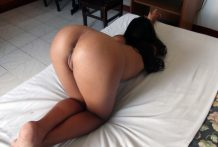 Filipina with highest brown ass has pussy pumped via vacationer