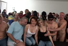 Massacre!! 120 Guys Gangbanged two czech sluts