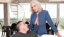 <b>Huge-titted 60Plus realtor Katia copulates 23-year-old client</b>