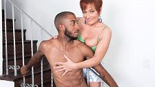 Ruby O'Connor's first big, black cock