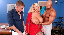 Shannon Blue's Tremendous-wild Large-tit Anal Threesome