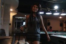 Attractive younger Filipina freelancer with nice boobs fucked by means of overseas man at lodge