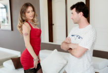 Son is slutty and craves to screw fresh stepmom Natasha Starr