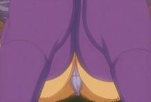 Fascinating anime nymphet getting puny cooshie frigged throughout thong