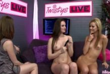 TWISTYS LIVE Display with Tori Dark, Jessie Rogers & Emily Addison