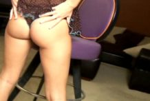 Horny exgirlfriend bitch in luxurious swimsuit Maddie giving lap dance