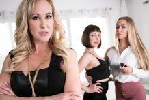 Showcases: Brandi Love – 2 Scenes in 1