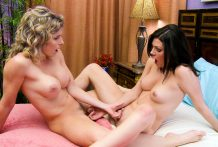 Cory Chase and Jessica Rex discover the charms of lesbian intercourse