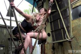 DIRTYSARAH – Attractive Complain in Ropes