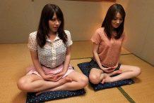 Anna Kirishima and Kana Suzuki pulverized at yoga