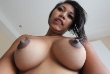 Sexy Thai beginner with nice knockers will get fucked and creamed