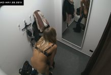 Superior Teenager Lady Tries Out Lingerie in Underwear Retailer