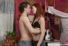 Very best intercourse with redhead teeny
