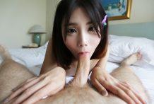 Petite shy Ladyboy from Bangkok displays not-so-innocent habits