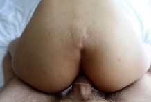 19yo busty Thai shemale will get ass fucked doggiestyle via white vacationers cock