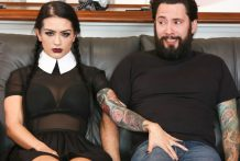 Highly Adult Wednesday Addams – Katrina Jade