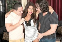 Layla copulates her son's buddies