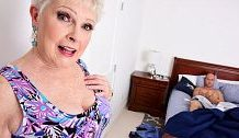 <b>Pleasure button is a granny. Jimmy is her grandson's buddy</b>