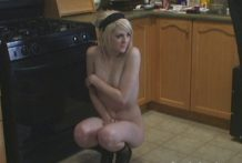 SpunkyAngels Haley posing bare
