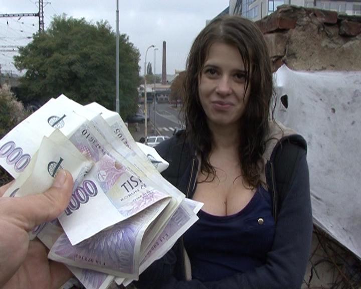 Czech Faculty Lady Outside SEX for Money | GRLS Video