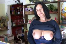 F-Sized Knockers Mature Get Fucked in Flower Retailer
