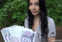 Stunning Czech Youngster Cheated her BF for Money