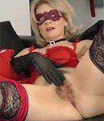 Diana V Masked MILF