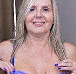 Velvet Skye Wanks In Blue
