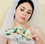 Reddening bride Tanita