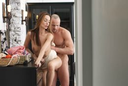Candy lovemaking and creampie